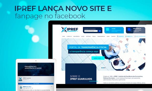 IPREF lança novo site e fanpage no Facebook