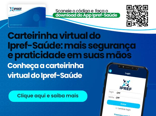 Divulgação do App do IPREF